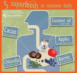 5 superfoods to consume daily