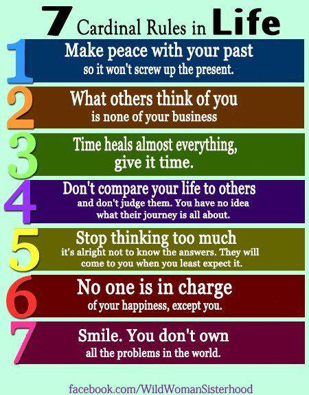 Rules to Live by: (4/4)