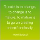 exist to change