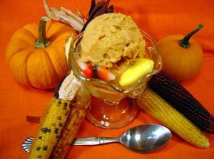 pumpkin ice cream